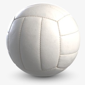 volleyball white 3 3D