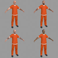3D model pack prisoner