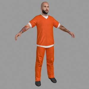 prisoner character people model