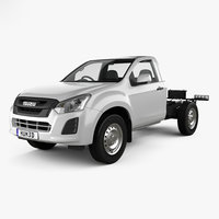 isuzu d-max sx 3D model