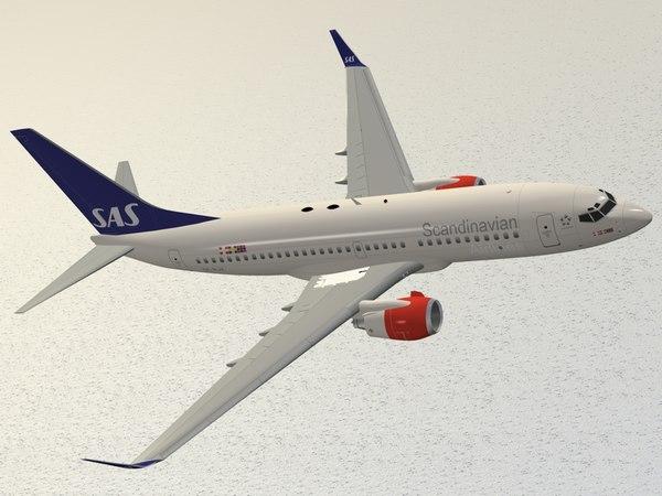Boeing 737-700 Scandinavian Airlines - SAS