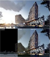 3D hotel revit