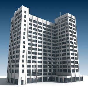 3D building 26