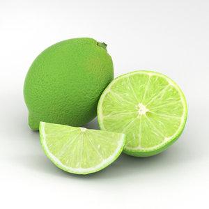 lime food fruit model