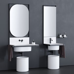 elle washbasin 3D