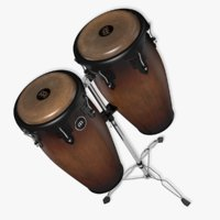 3D meinl percussion conga set