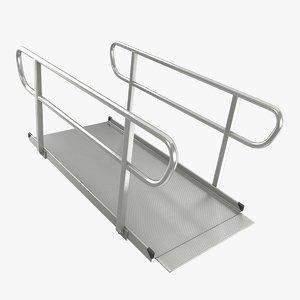 3D wheelchair ramp small