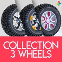 Wheel Tire Rim Design Collection 1