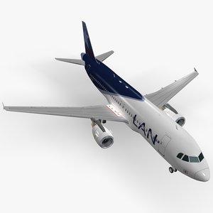 Airbus A320-214 LAN