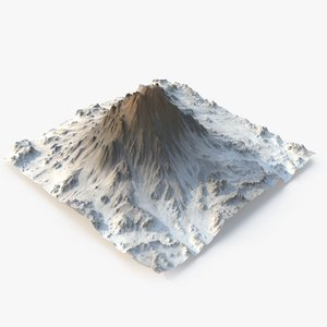 rocky mountain - 5 3D model
