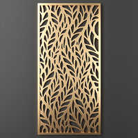 decorative panel 3D model