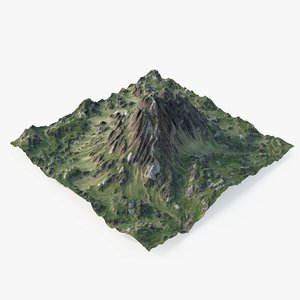 rocky mountain - 3 3D