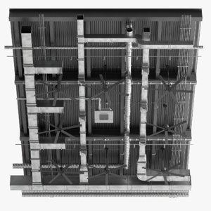 3D ceiling ventilation 4 2 model