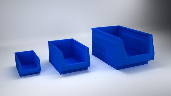 storage bin 3D