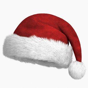 christmas hat v2 3D model