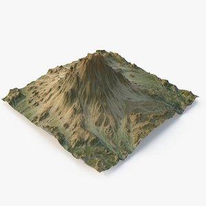 grassy mountain - 5 model