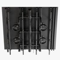 3D ceiling ventilation 2