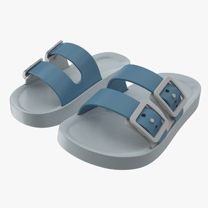 3D model children sandals