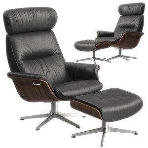3D timeout armchair conform