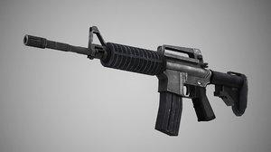 3D rifle carbine colt