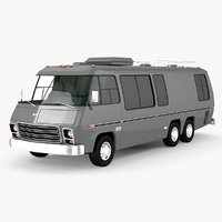 gmc motorhome 1972-1978 3D model