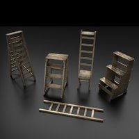 Wood Ladder Pack