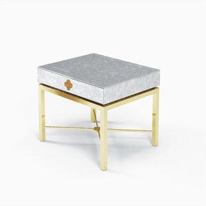delphine table 3D model