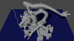 kaido dragon form model