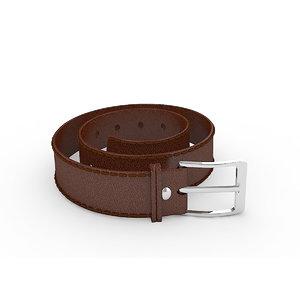 leather belt model
