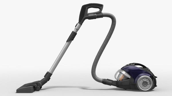 3D lg vacuum - rigged