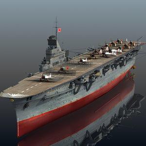japanese taiho 3D model