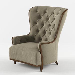 3D tosconova krudelya armchair