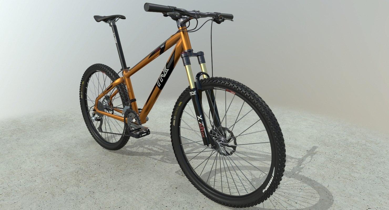 mountain bike pbr model