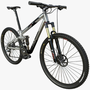 3D mountain bike pbr model