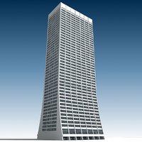 3D building 27 model