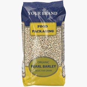 3D realistic food packaging grain