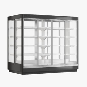 supermarket freezer tecto 2 3D