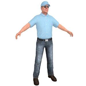 3D truck driver