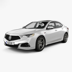 acura tlx a-spec 3D