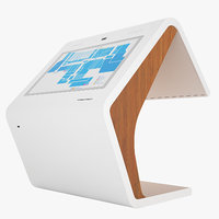 3D information kiosk