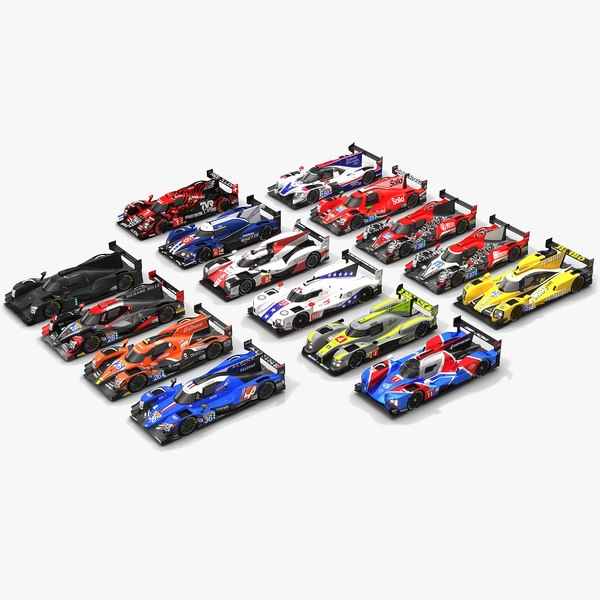 3D pack wec season 2018-19