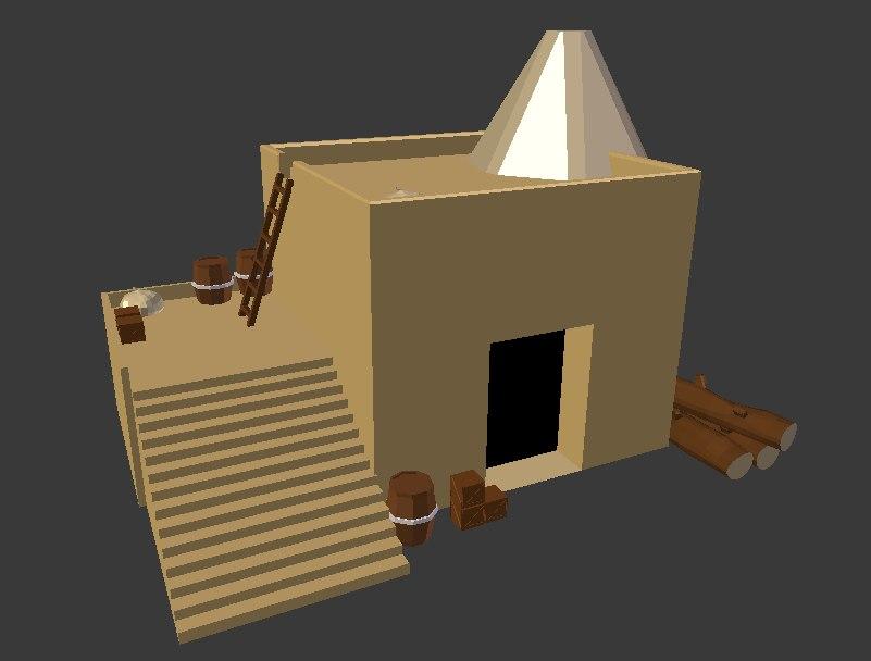 3D storage rts resource model