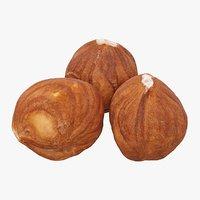3 Hazelnuts