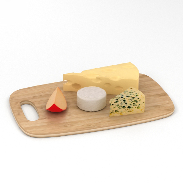 3D model cheese