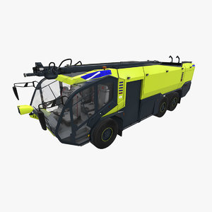 rosenbauer panther 6x6 3D model