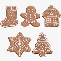 3D gingerbread cookies 5