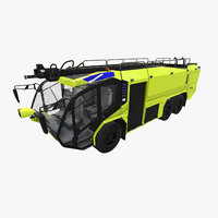 Rosenbauer Panther 6x6 Yellow 2