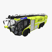 3D rosenbauer panther 6x6 model