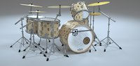 3D drum green day