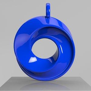 3D stylish modern model